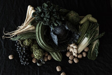 Still Life Fruit And Vegetables