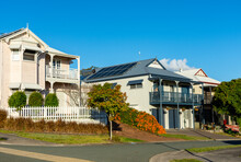Houses In An Australian Suburb