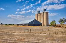 Wheat Silos And Storage Sheds ...