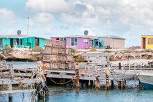 Colourful Fishing Shacks, Old ...