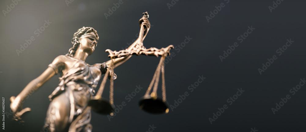 Fototapeta Law, legal, judge, lady justice concept