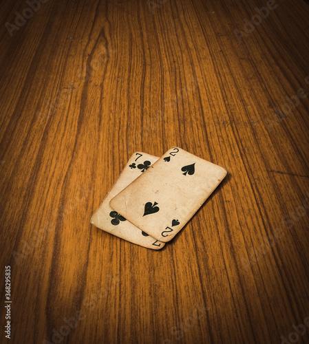 Papel de parede 2&7 set of card