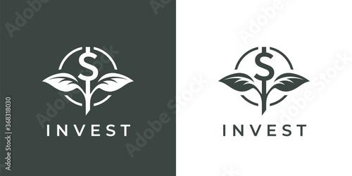 Fotomural Finance invest logo icon
