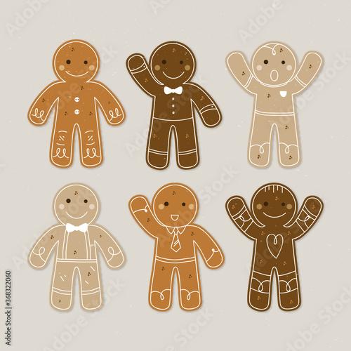 Pack of nice gingerbread cookies