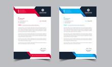 Modern Company Letterhead Template