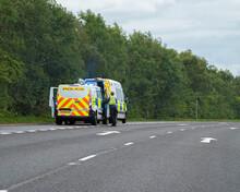 British Police Responding To R...