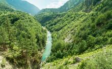Perspective View At Tara River...