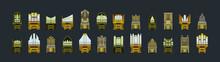 Set Of Vintage Pipe Organ With...