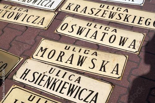 Fototapeta Zielona Gora, Lubuskie, Poland - 09/12/2015: Święto wina - obchodzone co roku w miesiącu wrześniu w Zielonej Górze. Tradycja ma ponad 100 lat. Korowód i jarmark okolicznościowy. Tłumy ludzi, turystów  obraz
