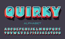 An Unusual Bold Sans Serif Fon...