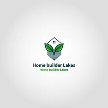 Home Builder Lakes Vector Logo...