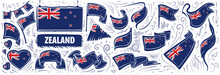 Vector Set Of The National Fla...