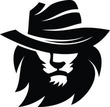 Cowboy Lion Secret Looking Wit...