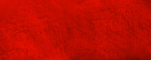 Red Fur Background Close Up Vi...