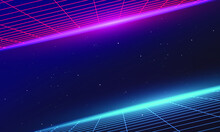 Synthwave Vector Graphic With ...