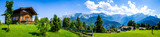 landscape at the wetterstein mountains - bavaria