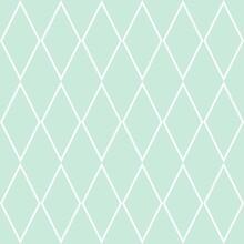 Tile Vector Pattern Or Mint Gr...