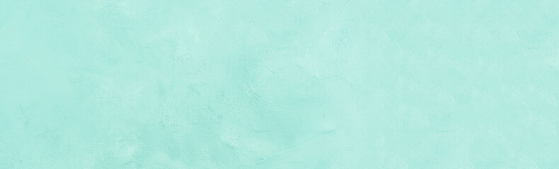 Turquoise textured painted concrete background