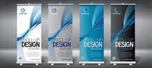 Roll-up Templates (85x200 Cm) - Geometrical Lines