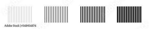 Fotografie, Tablou Set of vertical lines