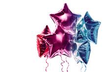 Balloons Star Red-blue, Balloo...