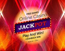 Jackpot Advertisement Template.
