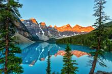 Golden Sunrise Over The Canadi...