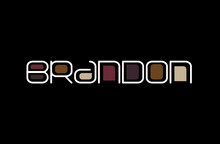 Brandon Name Art In A Unique C...