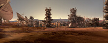 Human Settlement On A Red Planet