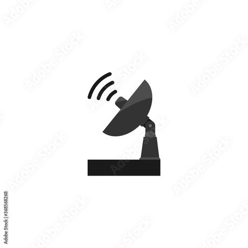 antenna logo Canvas Print