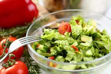Healthy Organic Vegetable Sala...