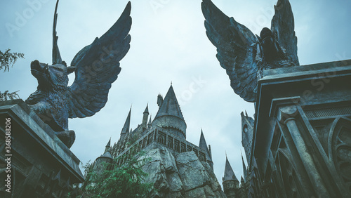 Hogwarts Castle in Japan Universal Studio Japan
