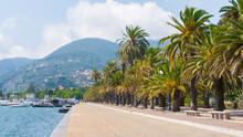 View Of La Spezia: The Costantino Morin Walk And The Thaon Di Revel Quay