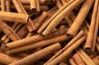 Cinnamomum cassia close up