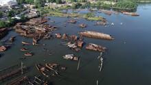 Ships Decaying At The Arthur K...