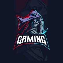 Valorant Gaming Character Mascot Design Of Omen. Mascot Logo For Esport, Gaming, Streamer, Youtube, Twitch