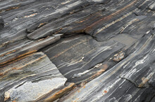 Metamorphic Rock Textures - Natural Grainy Patterns