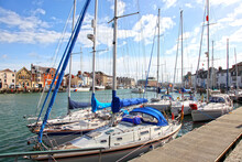 Sailing Boats In The Old Town ...