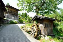 妻籠宿 水車小屋
