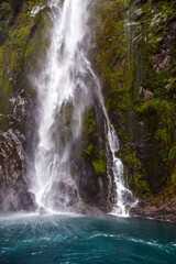 Fototapeta Wodospad Magical trip to New Zealand