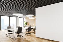 White Open Space Office Corner...