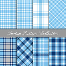 Baby Blue Collection Of Tartan...