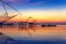 Beautiful Sunrise And Fishing ...
