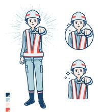 Simple Reflection Vest Man_wan...