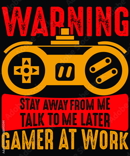 Fotomural Gamer at work