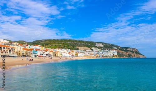 Valokuvatapetti vila de Sesimbra, portugal
