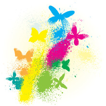 Vector Illustration Of A Color...