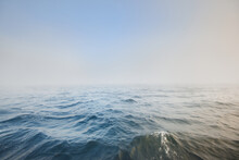 Baltic Sea In A Morning Fog At...