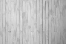 White Painted Old Wooden Background. Wooden Wall.