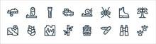 Jungle Line Icons. Linear Set....